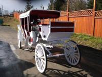 Beautiful Fully Reconditioned Horse Drawn Limousine