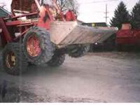 I have an 8 yrd dump truck & two skid steers for