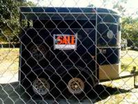 Horse Trailer, $1500.00 two axle, new tires, tack room,