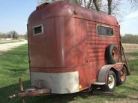 for sale good used Horse Trailer 2 Stall, tandem axel.