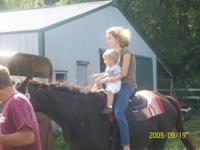 She is a Quarter Horse, about 4 yrs. old, not broke,