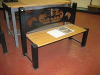 This great looking bench is perfect for your property!