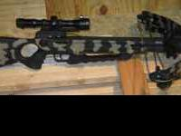Up for sale is this USED Horton Blackhawk crossbow