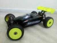 I have a Emaxx and a Hotbodies Ve8 buggy. Both have