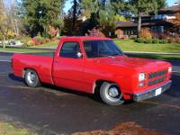 1982 Dodge D150 pickup. Completely customized from