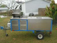 i have a hot dog /food cart it has the steamer/grill