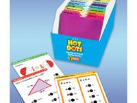 Hot Dots Standards-Based Math Review Cards: Grade 3.