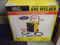 I HAVE FOR SALE A HOT MAX 300 AMP AC/200 AMP DC ARC
