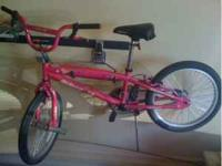 Girls hot pink razor bike, just a few yrs old,