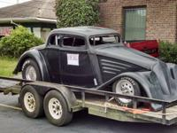 HOT ROD! 1934 Willys task vehicle with a Pontiac 455