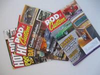 "Few magazines ""Rod and Custom"" ,""Hot Rod""   couple"