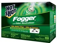The Hot Shot 2 oz. Indoor Foggers (3-Pack) are designed