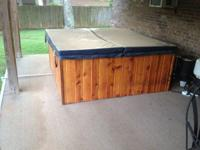 Very Nice 4 person tub, Kept under patio. Moving and do