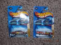 86 Hot Wheels brand new in package Years are late