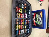 Hot Wheels in case. Mixture of Cars, Hot Wheels,
