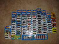 Approx. 100 cars new in blisterpaks. Cars are from