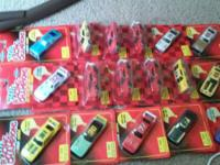 20 NASCAR racing series, Collectors Diecast cars, in