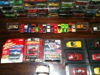 Large collection of Johnny Lightning die cast cars and