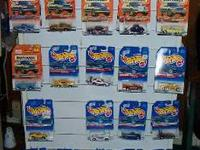 FOR SALE: HOT WHEELS & MATCHBOX CARS. $1.25 EACH. MANY