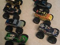 I have 15 different Hot Wheels Monster trucks for sale,