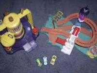 I have a car wash & shark Hot Wheels playsets 4 sale.