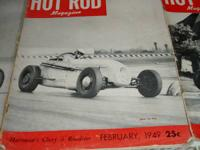 I have a great deal of old editions of Hot Rod Magazine