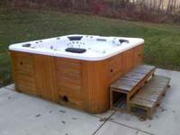Im selling my used hottub. It is BROKE and cannot be
