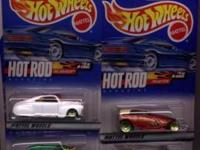 All of the cars listed below are still in the blister