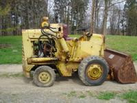 Hough H25B payloader in very good condition. Runs good