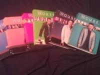 House DVDs Season 1-6 In great condition! Some of