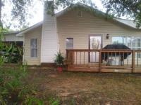 3 bedroom 1.5 bath house. two car carport. deck on