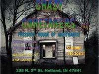 Crazy Caretakers presents the House of Nightmares.