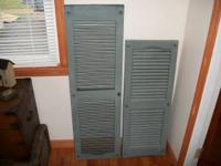 House shutters for sale 2 shutters per set: 14 sets $10