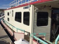 "By OWNER 50' Houseboat ""1988"" R & R Leisure Craft."