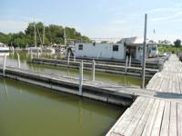 Houseboat for sale!  55' x 15'.   2 Bedroom, 1 Bath,