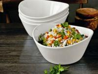 we have 4 pc porcelain serving bowls...Diswasher