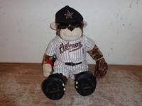 N/W HOU BABW MONKEY 2 piece Astros uniform studded