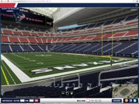 Houston Texans vs. Washington Redskins Lower Level