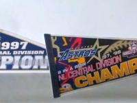 Selling Houston Astro Pennants. asking 7 each looking