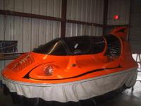 This extremely rare hovercraft was originally built in