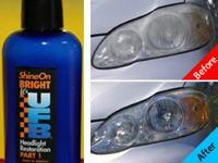 ShineOn Bright? Clear your dull headlights. Boost