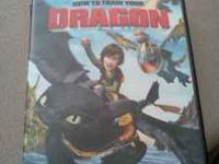 How to train your dragon dvd. Movie plays and is in