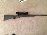 I've got a howa 1500 chambered in 30-06 with a bushnel