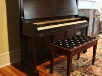 Howard (of Cincinnati, a Baldwin product) Upright Piano