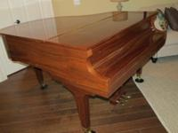 Stunning Howard Baby Grand, Mahogany with a High Gloss