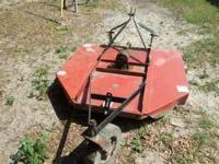 5 foot Howse Bushog (rotary cutter) for sale. Mower is