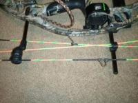 30 inch draw Hoyt Alphaburner barely used, decked out,