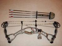 Hoyt AlphaMax 32 Hunting Bow Great Condition Ready To