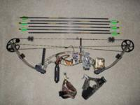 "Hoyt Cybertec bow 351/2"" ata, 61/2"" brace height, 29"""