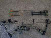 this hoyt bow is in MINT condition...it has a trophy